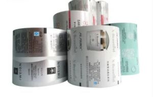 Custom Aluminum Foil Laminated Cosmetic Sachet Packaging Roll Film pictures & photos