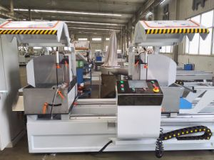 Aluminum Window CNC Machine for Double Mitre Cutting Machine pictures & photos
