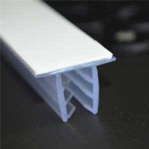 Clear PVC Shelf Stopper in Supermarket Pd-4070 pictures & photos