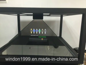 3D Holo Pyramid Display Showcase / Hologram Box pictures & photos