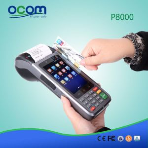 Portable Mobile Android POS Terminal Machine System with Printer pictures & photos