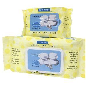 Flushable Air Laid Paper Wet Tissue pictures & photos