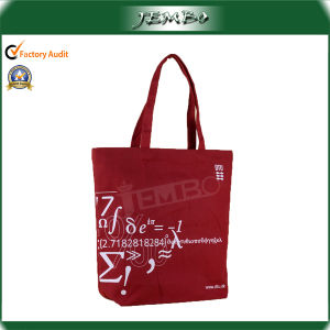 Eco-Friendly Fashion Canvas Shopping Bag with Handle pictures & photos