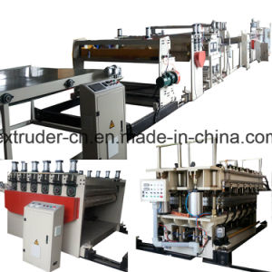 Automatic PC PP PE Plastic Sheet Production Line pictures & photos