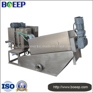 Screw Press Dewatering Machine in Dairy Sewage Treatment Plant pictures & photos