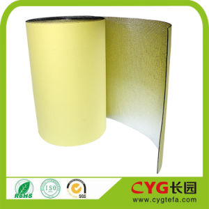 Self Adhesive PE Foam with Aluminium Foil One Side pictures & photos