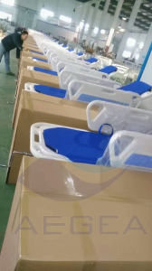 2 Functions Hospital Patient Manual Stretcher Trolley (AG-HS002) pictures & photos