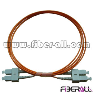 SC/PC-SC/PC Optical Fiber Patch Cord mm Duplex pictures & photos