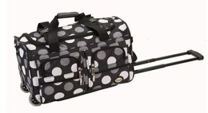 Camouflage Sports Travel Tote Duffle Wheeled Trolley Bag pictures & photos