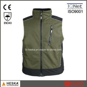 Work Casual Ripstop Waistcoat Mens Softshell Vest pictures & photos