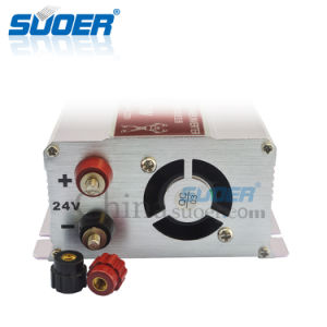 Suoer 24V 500W Solar Power Car Inverter with Ce&RoHS (STA-500B) pictures & photos