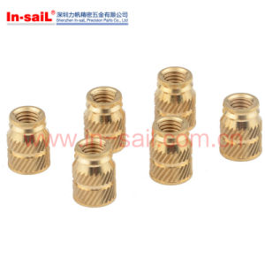 Battery Terminal Brass Threaded Insertion Nuts pictures & photos
