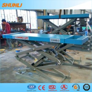 Ce Approved Small Scissor Designed Car Lift pictures & photos