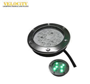Ce Approved High Power IP68 Stainless CREE RGB Control LED Swimming Pool Light
