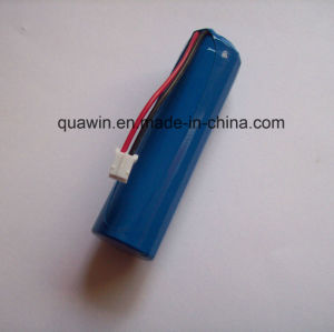 1X18650 3.7V 3100mAh Li-ion Battery for Bike Front Lamp pictures & photos
