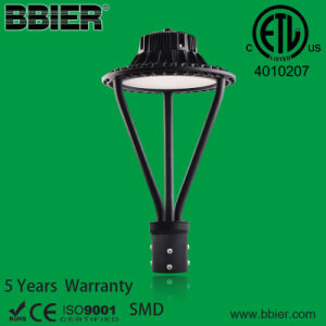 Dlc High Power Meanwell Driver Philips LEDs 100W LED Post Top Light Fixture pictures & photos