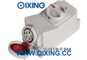 1p67 16A 5p Interlocked Receptacle Switch pictures & photos