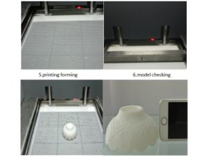 Factory Large Size High Precision Wax, UV Resin 3D Printer pictures & photos