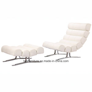 Living Room Leisure Furniture Leather Lounge Chair (T092A) pictures & photos