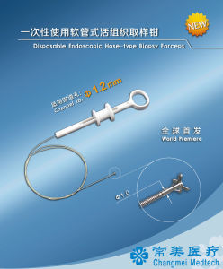 Disposable Endoscopic Hose-Type Biopsy Forceps for 1.2mm Channel Diameter CE Certificate pictures & photos