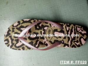 Leopard Print Flip Flop Shoes