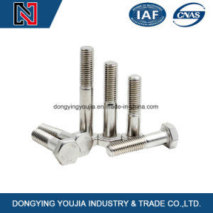 DIN931 Stainless Steel Hexagon Head Bolts pictures & photos