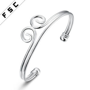 Fashion Silver Plated The Incantation of The Golden Hoop Bracelet pictures & photos