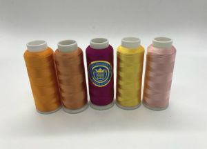 Shanfa 100% Viscose Embroidery Thread pictures & photos