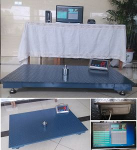 Small Capacity Electronic Floor Weighing Scale High Precision 1 Ton pictures & photos
