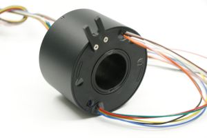 Gigabit Ethernet Through Hole Slip Ring Without Interference pictures & photos