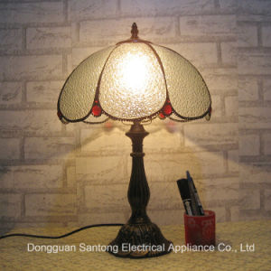 LED Tiffany Table Lamp Transparent Glass pictures & photos