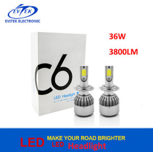 High Quality H4 H7 Motorcycle LED Headlight Bulbs 30W 3000lm with COB Chips pictures & photos