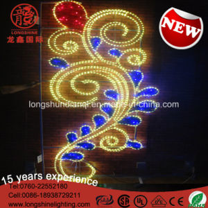 LED Flower Middle East National Day Celebration Street Pole Decorative Light for Outdoor pictures & photos