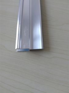 Aluminium Polishing Profile with Different Finishing and Color Options pictures & photos