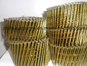 Flat Coil, Wire Collated for 15 Degree Coil Nails /Wire Coil Nails pictures & photos