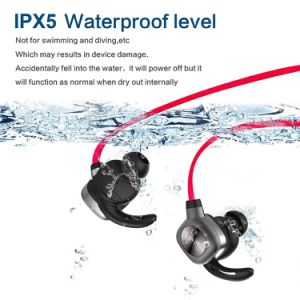 Hot Selling Sport Waterproof Sweatproof Stereo Wireless Bluetooth in-Ear Headphone Headset with Microphone pictures & photos