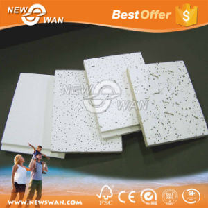Competitive Prices 12mm Worm Mineral Fiber Wool Ceiling pictures & photos