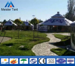 2-6 Person Camping Yurt Tents Group for Tourist Living pictures & photos