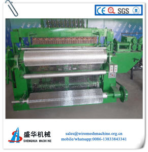 Welded Wire Roller Mesh Machine (mesh size: 1/4′′-8′′) pictures & photos