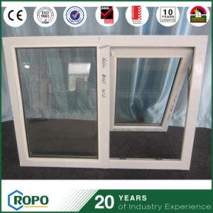 Hurricane Proof Impact PVC/UPVC Awning Glass Window pictures & photos