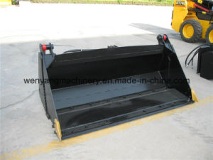 Skid Steer Loader Attachment 4 in 1 Bucket pictures & photos