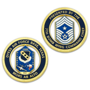 Promotion Customized Navy Chief Gold Coin pictures & photos