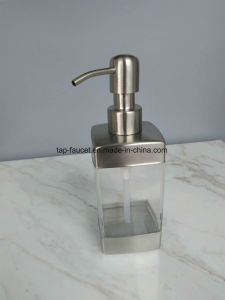 Square Washroom Soap Dispenser Anticorrosive Stainless Steel 304 pictures & photos