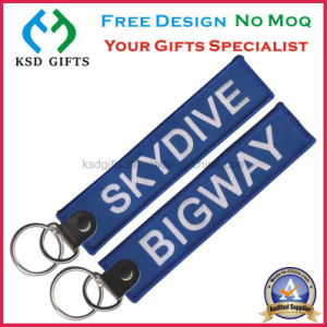 Wholesale Emrboidered Patch Key Ring Factory for Promotion pictures & photos