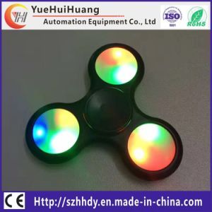 Clickable Button Chrome Steel Bearing LED Spinner LED Spinner Fidget pictures & photos