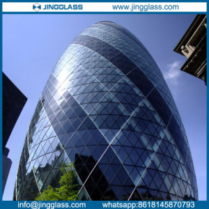 Curved Tempered Insulated Glass Building Glass pictures & photos