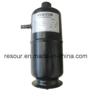 Vertical Liquid Reservoir, Refrigeration Parts Liquid Receiver, Helical Oil Separator with Oil Receiver pictures & photos