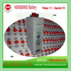 Long Life Nickel Cadmium Ni-CD Storage Battery 40ah for Locomotive pictures & photos