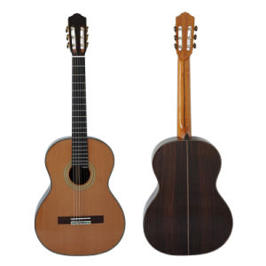 Factory Direct Sale Double Top Solid Classical Guitar (SC093FD) pictures & photos