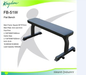 Fitness Flat Bench/Body Building Flat Bench/Commerical Equipment Bench/Flat Bench pictures & photos
